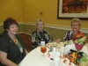 Mimi, Beth and Aletha enjoying lunch after volunteering.