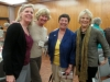 Linda Rominger, MaryKay Kaltreider, Sallyann Berendsen and Judy Magnuson socializing at the October meeting.